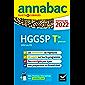 Annales du bac Annabac 2022 HGGSP Tle générale (spécialité) : méthodes & sujets corrigés nouveau bac