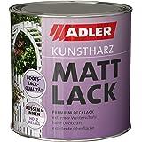 Asinol Unimog Schwarz Matt 1 000ml Lack Farbe Kunstharzlack Baumarkt