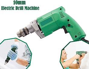 Chain Fun N Shop-Powerful Electric Drill Machine 10Mm - 2600 Rpm, 350W 220V- 50Hz-Yiking Brand