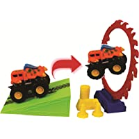 Chocozone Toddler Car Ramp Toy Track for 3 Year Old Boy 4 Years Old Boys Gifts - with 2 Cars