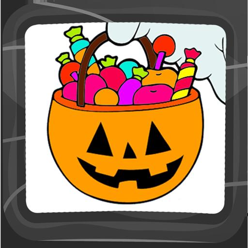 Halloween-Malbuch