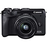 Canon EOS M6 Mark II + EF-M 15-45mm IS STM + EVF-DC2