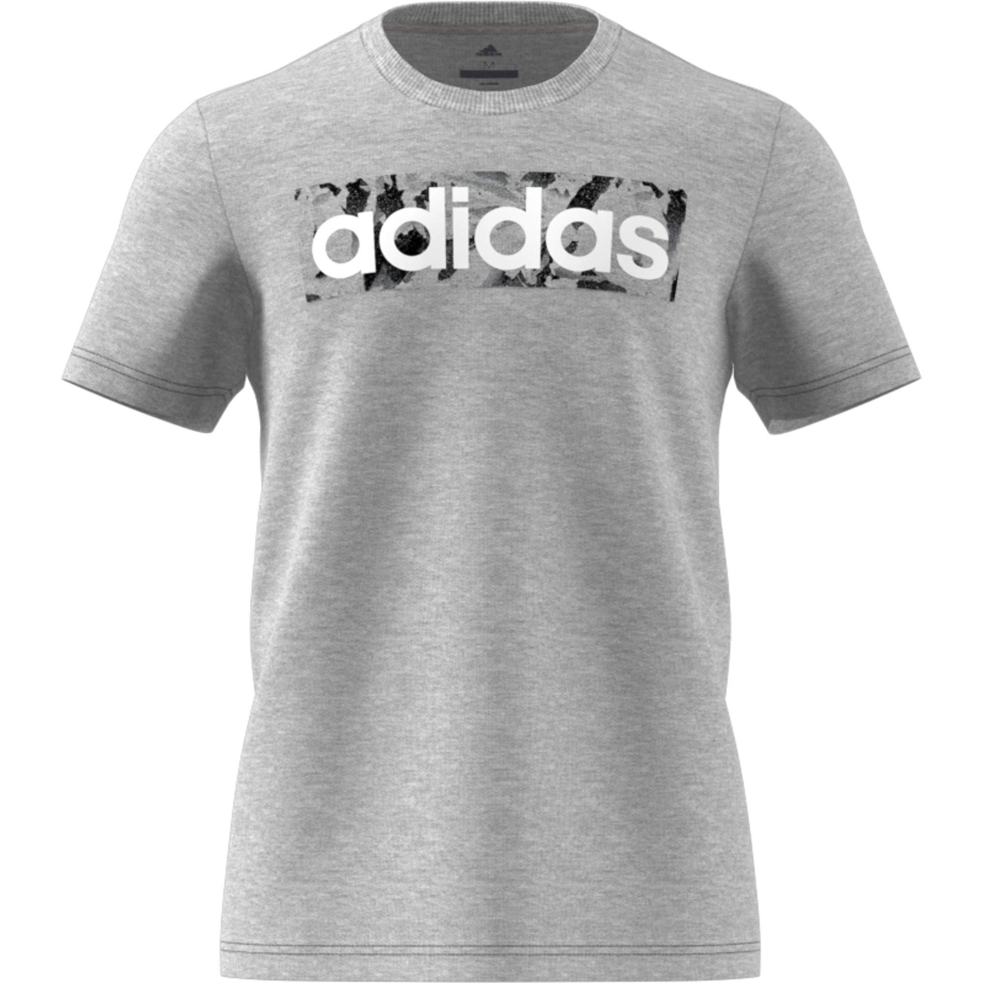 adidas linear logo sweatshirt uomo