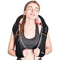 RENPHO Masseur Cervical Shiatsu, appareil de massage cervical dorsal pour le cou et les épaules avec chaleur, tissus…
