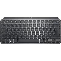 Logitech MX Keys Mini Kabellose Tastatur, Kompakt, Bluetooth, Hintergrundbeleuchtung, USB-C, Kompatibel mit Apple macOS…