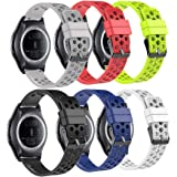 Bracelet de rechange Fit-power pour montre connectée - 20mm Pour montres Samsung Gear Sport / Samsung Gear S2Classic / Huawei Watch 2/ Garmin Vivoactive 3 / Garmin Vivomove HR