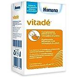 Humana Vitadé a base de vitamina D, DHA, fortalece el sistema inmune y contribuye al desarrollo de los huesos. Complemento Al
