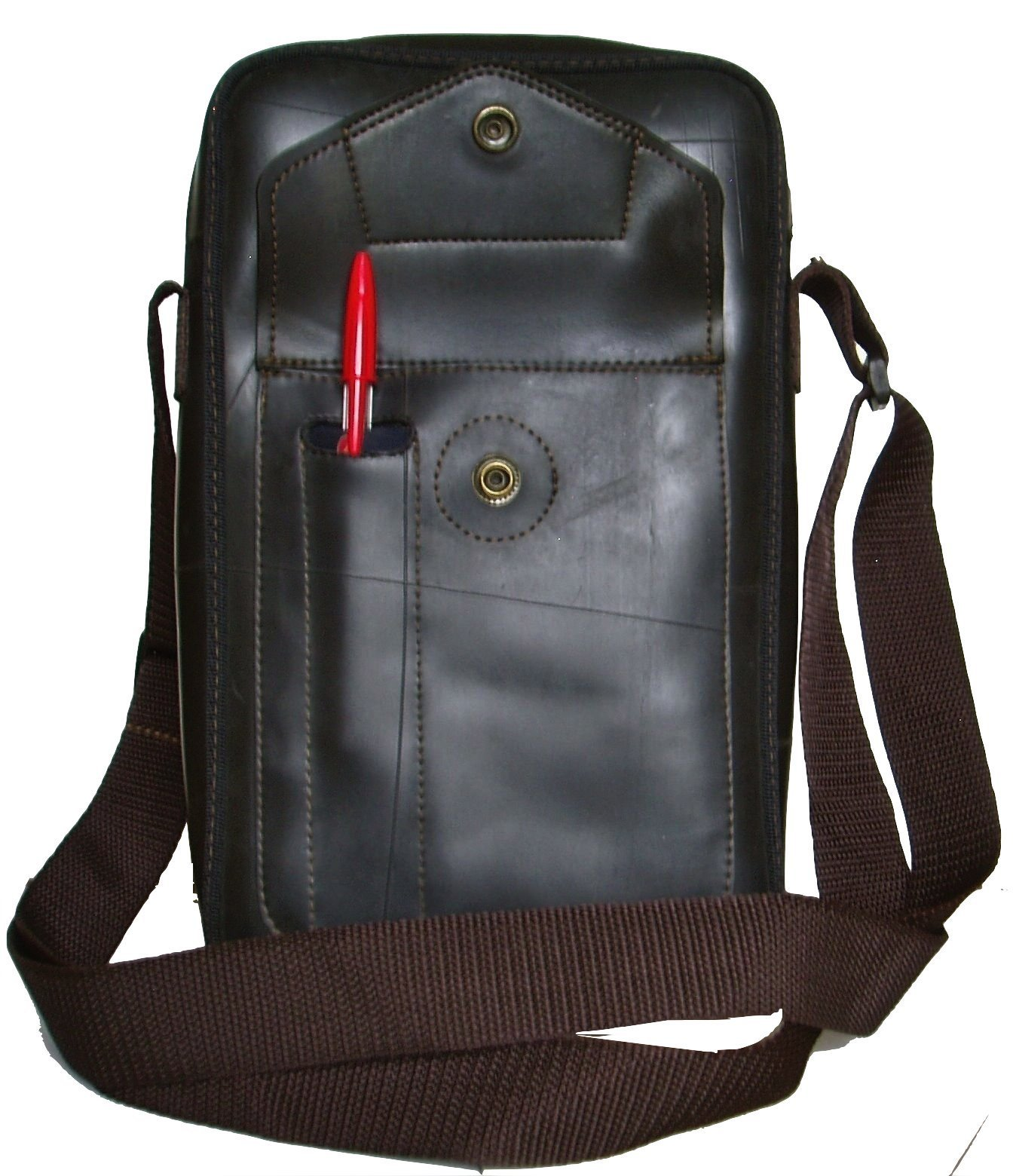 Recycled Rubber shoulder bag Marc - handmade-bags