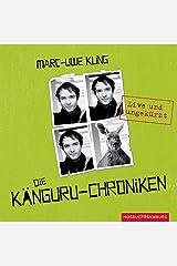 Die Känguru-Chroniken (Känguru 1): Live und ungekürzt: 4 CDs Audio CD