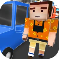 Cube World: Criminal Race 3D