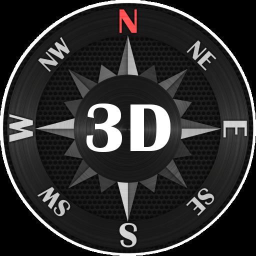 Compass Steel 3D -