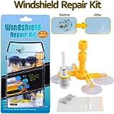 Randalfy Do-It-Yourself Auto Windshield Repair Kit – Windshield Repair Kit for Car Windscreen/Glass Rock Chip, Bulls Eye…