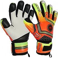 GK Saver Football Goalkeeper Gloves Champ 01 Orange Negative Cut Goalie Gloves