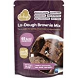 Lo-Dough Brownie Mix. The Incredibly Low Calorie Way to Make Indulgent Brownies. 65 Calories Per Brownie. Reduced Fat…
