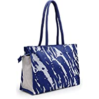 Asian Eco-Friendly Jute Bag-Reusable Tiffin/Shopping Grocery Multipurpose Hand Bag with Zip & Handle for Men and Women…