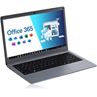 Jumper Laptop 13,3 Zoll mit Microsoft Office 365 FHD Computer PC 4GB RAM 64GB eMMC Intel Celeron CPU, Windows 10…