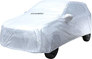 Amazon Brand - Solimo Maruti Alto K10 Waterproof Car Cover (Silver)