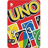 UNO Card Game for Kids and Families in Collectible Tin with 112 Cards and Instructions, Makes a Great Gift for 7 Year…