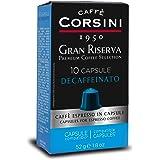 Caffè Corsini - Gran Riserva Decaffeinato, Miscela di Caffè Espresso Decaffeinato in Capsule Compatibili Nespresso* - il Caff