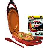 Red Copper 5-Minute Chef - Non-Stick Omelette Pan