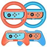 HEYSTOP Grip per Nintendo Switch Joy con [4 Pezzi], Hand Grip Kit Antiusura Custodia Protettiva per Controller Switch Joy con