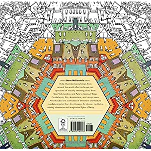 Fantastic Cities: A Coloring Book of Amazing Places and Imagined