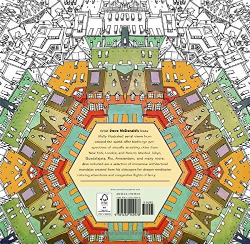 Fantastic Cities A Coloring Book Of Amazing Places And Imagined Visualizza Le Immagini