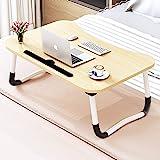 طاولة سرير للابتوب قابلة للتعديل، مكتب للسرير والاريكة، طاولة قابلة للطي للافطار واللابتوب