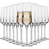Krosno Flute Cristal de Champagne Verre   Lot de 12   180 ML   Collection Avant-Garde   Parfait la Maison, Les Restaurants, L