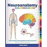 Neuroanatomy Coloring Book: Human Brain Coloring Book for Neuroscience and Neuroanatomy Workbook