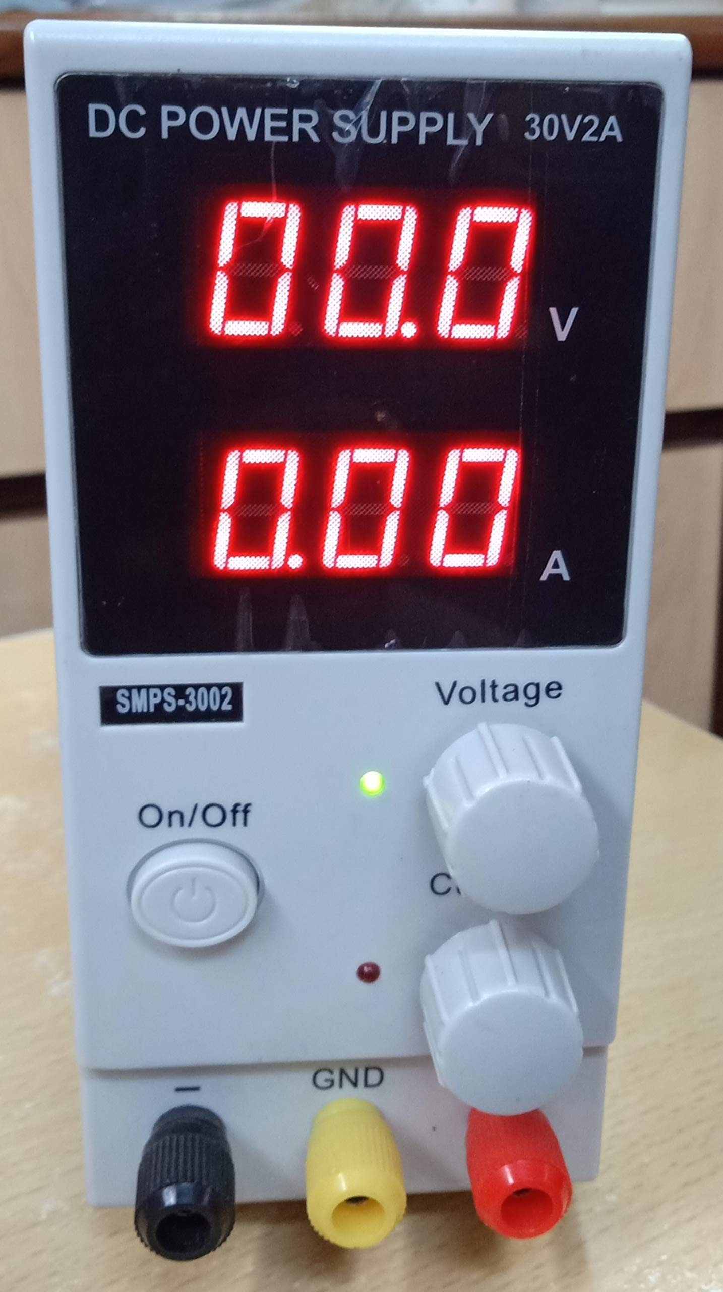 Skyking Mini Switching Regulated Adjustable DC Power Supply SMPS Single  Channel 30V 2A Variable Model No 3002