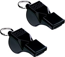 FOX 40 Whistle Black Pack Of 2