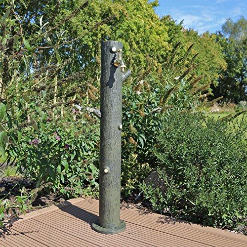 Clgarden fontana punto d acqua a colonna per irrigazione giardino wzs4 altezza circa 90cm - Fontana a colonna da giardino ...