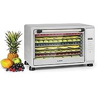 KLARSTEIN Mega Jerky - Déshydrateur automatique, 650W, Boîtier métallique, Température: 50-80 ° C, Ecran LCD tactile…