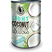 Arnaboldi 4 Latte di Cocco Light in Lattina per Cucinare [4 Confezioni da 400g, Totale 1.600g]