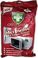 Greenshield Microwave and Fridge Freezer Wipes - Pack of 50