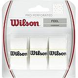 Wilson PRO Overgrip Perforated, Impugnatura per Racchetta da Tennis Unisex Adulto