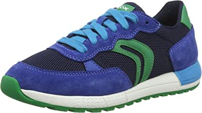 Geox Boy's J Alben D Low-Top Sneakers Child