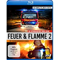 Feuer und Flamme - Mit Feuerwehrmännern im Einsatz - Staffel 2 [Blu-ray]