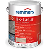 Remmers HK-Lazuur Grey Protect zilvergrijs, 5 liter, premium houtbeits voor buiten, vergrijzing van natuurlijke grijstinten,