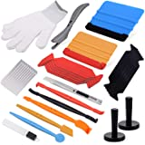 Ehdis Folie gereedschap auto folie set vinyl wraps gereedschap venster kleuring vinyl wrap gereedschap, vilt rakel, magneet,