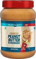 HealthKart Peanut Butter Protein Fortified Unsweetened, 1 KG