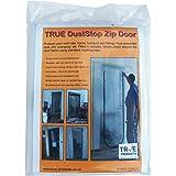 True Products Stofwerende deurkit, met ritssluiting, B5017B, voorgemonteerd voor eenvoudige installatie