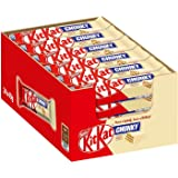 Kitkat Chunky Witte Chocolade Reep - voordeelverpakking - doos met 24 chocoladerepen