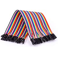 AZDelivery Jumper Wire Cavalier Câble F2F pour Microcontrôleur Breadboard – 3 en 1 Multicolore Fil Wire compatible avec…