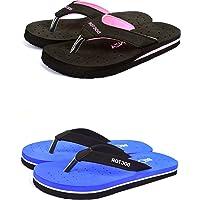 BEONZA Women's Doctor Slippers (Set of 2)