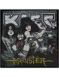 KISS Monsters Iron-On Patch 10 x 9.5 CM / Hard Rock by Kiss