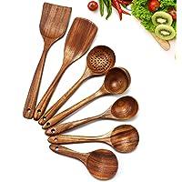 Cosyres - Ustensiles de cuisine en bois naturel en provenance du Japon - Ustensiles de cuisine - Anti-rayures et…