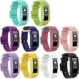 Axcellent Kompatibel med Ace 2 band för barn 6+, mjukt silikonarmband tillbehör klockarmband repalcementrem, färgglada sporta