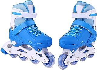 Zeela 2 in 1 Verstellbar Inlineskates/Rollschuhe für Mädchen und Jungen, Kinder Inline Skates Inliner